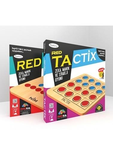 Morhipo kitap Redka Tactix Nim Zeka Mantık ve Strateji Oyunu Renkli